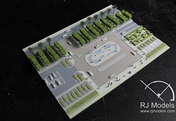 Model çevresini gösteren örnek