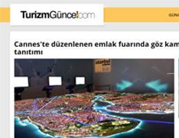 Cannes'te Düzenlenen Emlak Fuarında Göz Kamaştıran İstanbul Tanıtımı
