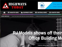 RJ Models shows off their Architectural Office Building Models