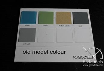 Renk grafiklerini gösteren örnek